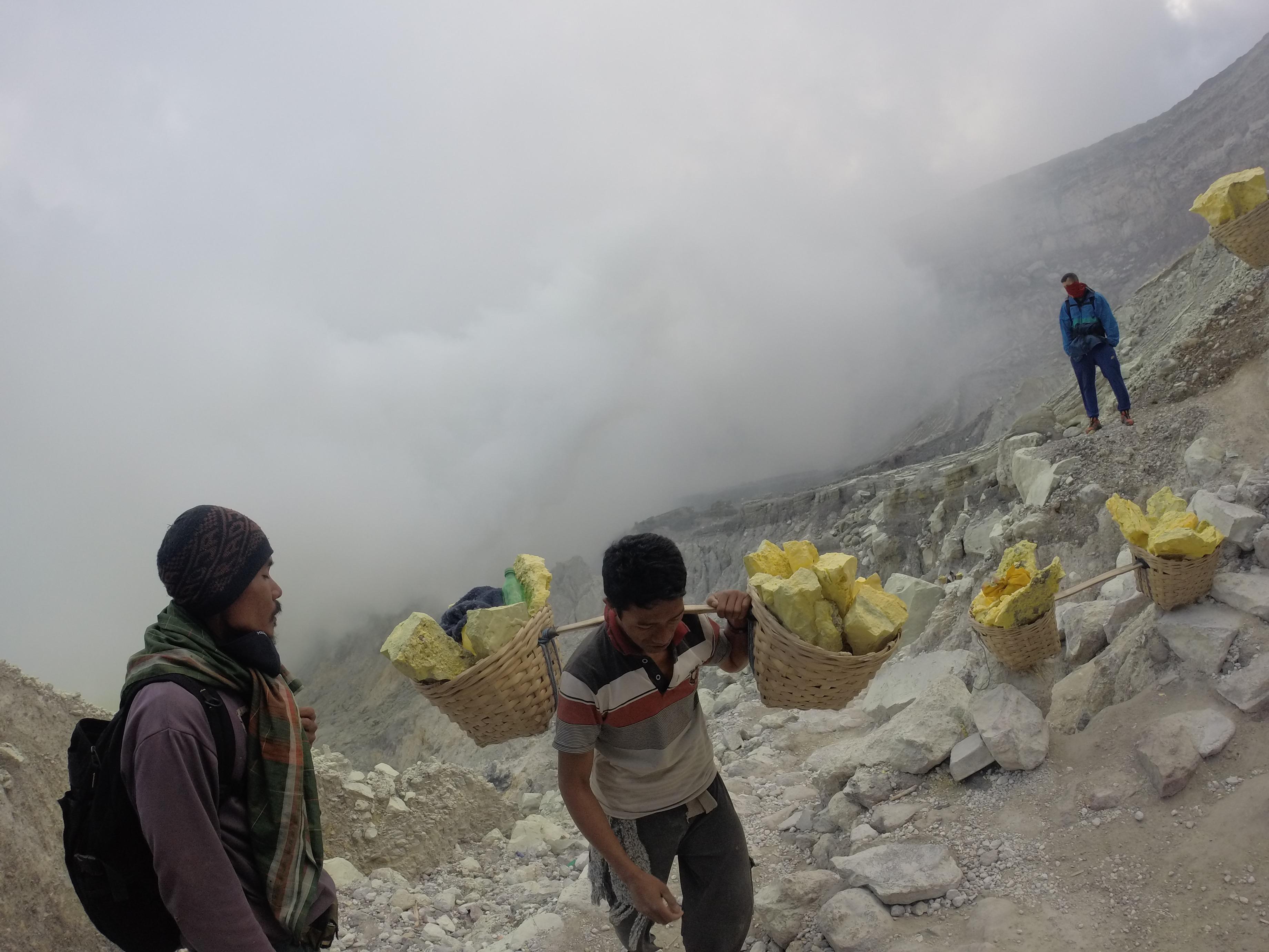 Mineros del azufre