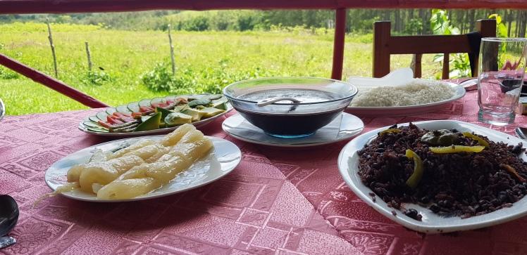 Comida tradicional en Paladar