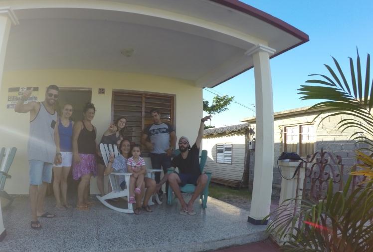 Nuestra família en Viñales