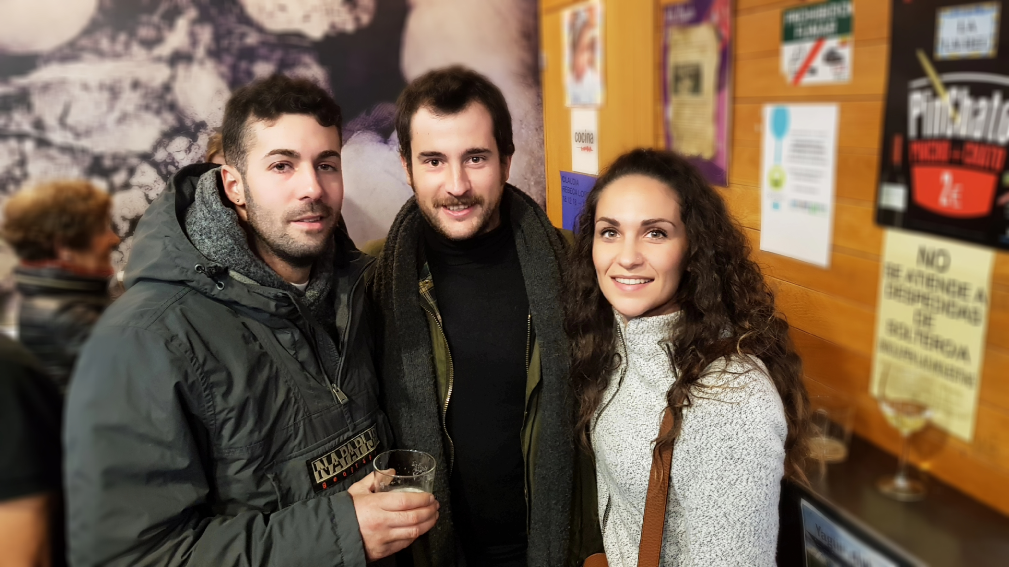 Bar Lorenzo con mi amigo Bruno, él nos hizo esta magnífica ruta por La Rioja