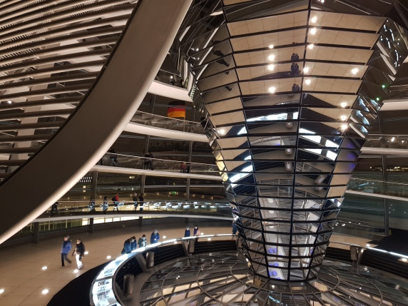 Bundestag - interior